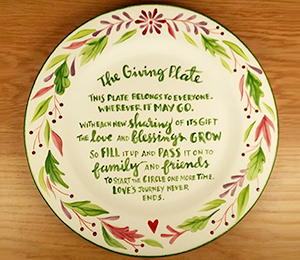 Metro Pointe The Giving Plate